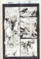 Morbius: The Living Vampire #23 p.14 - Vic Slaughter vs. Randolph - 1994 Comic Art