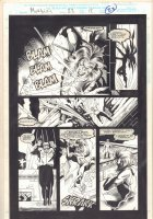 Morbius: The Living Vampire #23 p.23 - Morbius in Pursuit - 1994  Comic Art