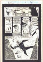 Morbius: The Living Vampire #23 p.26 - Randolph Tries to Kill Himself - 1994  Comic Art