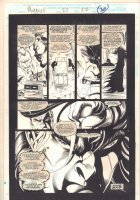 Morbius: The Living Vampire #23 p.32 - Morbius End Page - 1994  Comic Art