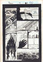 Morbius: The Living Vampire #24 p.2 - Basilisk - 1994  Comic Art