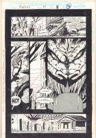 Morbius: The Living Vampire #24 p.3 - Basilisk Kill - 1994  Comic Art