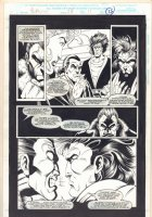 Morbius: The Living Vampire #24 p.15 - 1994  Comic Art
