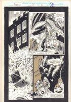 Morbius: The Living Vampire #24 p.18 - Brutal Basilisk- 1994  Comic Art