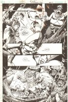 JLA: Gatekeeper #2 p.21 - Great Warrior Babe Page - 2002 Signed Comic Art