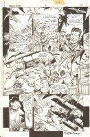 Guns of the Dragon #2 p.16 - Dragon Island - Great Red Baron - 1998 Signed Comic Art