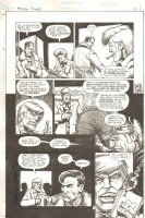 Guns of the Dragon #1 p.12 - Enemy Ace & Bat Lash - 1998 Signed Comic Art