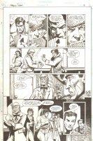 Guns of the Dragon #1 p.13 - Enemy Ace, Biff Bradley, & Bat Lash - 1998 Signed Comic Art