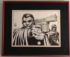 GrimJack Commission - 2005 Signed Comic Art