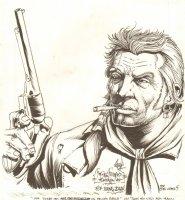 Jonah Hex Commission - 1997 Signed Comic Art