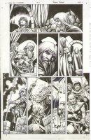 Conan The Cimmarian #17 p.11 Arrow thru Neck - Signed Comic Art