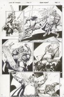 Conan The Cimmarian #17 p.15 All Action - Signed Comic Art