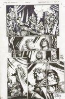 Conan The Cimmarian #18 p.14 Flaggon of Ale - Signed Comic Art