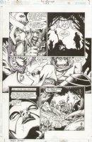 JLA Gatekeeper #1 p.21 Babe Comic Art