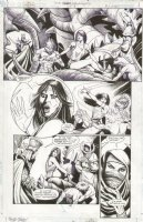 JLA Gatekeeper #1 p.31 Babes & Beheading Comic Art