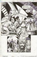 JLA Gatekeeper #1 p.33 Great Villian & Monsters Splash Comic Art