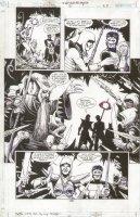 JLA Gatekeeper #2 p.23 Green Lantern & Babe vs Villian Comic Art