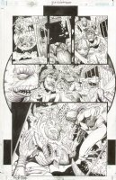 JLA Gatekeeper #3 p.07 Aquaman Underwater Action! Comic Art