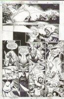 JLA Gatekeeper #2 p.39 Green Lantern Action! Batman Sword & Sorcery Comic Art