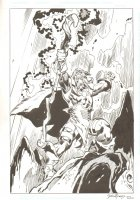 Storm Giant Commission - Very John Buscema - Signed 2002 Comic Art