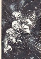 Dracula vs. Nosferatu Commission - Signed Comic Art