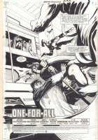 Martian Manhunter #18 p.1 - 'One For All' Title Splash - 2000 Signed Comic Art