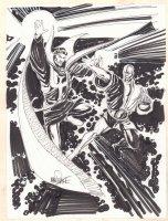 Doctor Strange Action Commission - Signed Comic Art