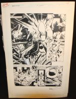 Legends of the Dark Knight #17 p.1 - LA - Title Splash - 1991 Comic Art