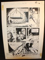 Legends of the Dark Knight #20 p.17 - LA - Batman Sets His Trap - 1991 Comic Art