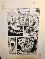 Legends of the Dark Knight #20 p.19 - LA - Lots of Batman - 1991 Comic Art