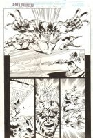 X-Men Unlimited #9 p.30 - Wolverine - 1995 Signed Comic Art