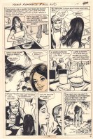 Young Romance #202 p.3 / p.16 - 'All the Girls Fell in Love' End Page - 1974 Comic Art
