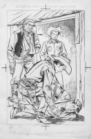 Roy Rogers Stotrybook Illustration Comic Art
