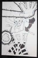 Galactus with Silver Surfer Commission - 2016 Signed by ? Comic Art