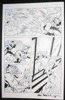 Wild p.3 - Wolfman Hero vs. Villain - 2015 Signed by Jack ? Comic Art