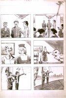 1979 Marvel Humor Mag Art Gag LA on craft tint p.42 Comic Art
