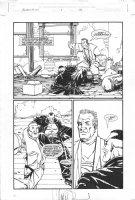 Bloodrush #1 p.10 - Cool work by  Comic Art