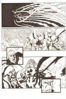 Establishment, The #13 p.11 - All Action - 'Walking Dead' Artist - 2002 Comic Art