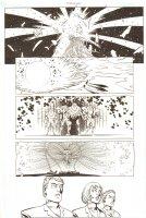 Establishment, The #13 p.13 - Surreal Page - Golden App - 'Walking Dead' Artist - 2002 Comic Art