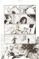 Establishment, The #13 p.18 - Whole Team vs. Giant Monster - 'Walking Dead' Artist - 2002 Comic Art