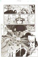 Establishment, The #13 p.19 - Whole Team vs. Giant Ugly Monster - 'Walking Dead' Artist - 2002 Comic Art