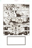 Establishment, The #13 p.21 - Crazy Mind Warp - 'Walking Dead' Artist - 2002 Comic Art