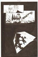 Establishment, The #13 p.4 - Jon Drake and Scarlet - Space Splash - 'Walking Dead' Artist - 2002 Comic Art
