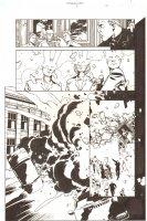 Establishment, The #6 p.21 - Jon Drake and Golden - 'Walking Dead' Artist - 2002 Comic Art
