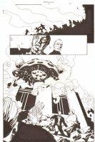Establishment, The #6 p.22 - Spaceship Splash - 'Walking Dead' Artist - 2002 Comic Art