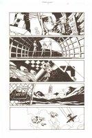 Establishment, The #7 p.13 - Golden and Shuttle Launch - Walking Dead Artist - 2002 Comic Art