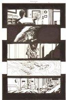 Establishment, The #7 p.14 - Mister Pharmacist, Golden, and Shuttle Launch - Walking Dead Artist - 2002 Comic Art