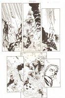 Establishment, The #7 p.4 - Great Golden Action vs. Spaceships - 'Walking Dead' Artist - 2002 Comic Art