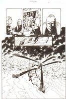 Establishment, The #8 p.17 - Jon Drake and Helicopter 1/2 Splash - 'Walking Dead' Artist - 2002 Comic Art