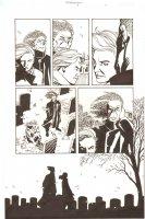 Establishment, The #8 p.9 - Mister Pharmacist and Jenny Sparks at Graveyard - 'Walking Dead' Artist - 2002 Comic Art